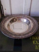 アクセサリートレイ シルバー 小物入れ 装飾 真鍮 シルバーメッキ WM ROGERS アンティーク ビンテージ
