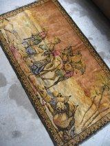 ラグ アートラグ カーペット 商人 ラクダ アラビアン エジプト ウォールオーナメント 壁掛け アンティーク ビンテージ