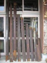 天井 床 見切り モールディング トランザム 壁材 床材 廃材 ブラウン シャビー アンティーク ビンテージ