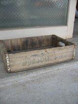 1940'S ボトルクレート NESBITT'S ORANGE ボトルケース ウッドボックス 木箱 アドバタイジング アンティーク ビンテージ その4