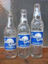 1950'S SODA BOTTLE ソーダボトル ポップボトル サンクレスト Sun Crest 大 中 小 アドバタイジング アンティーク ビンテージ