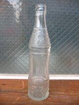 1930'S レア SODA BOTTLE ソーダボトル ポップボトル ガラスボトル HUBERT BOTTLING CO. アドバタイジング アンティーク ビンテージ