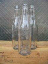 1930'S SODA BOTTLE ソーダボトル ポップボトル ガラスボトル クリア 無地 アンティーク ビンテージ
