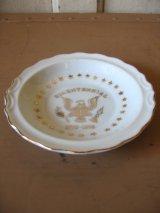 灰皿 アッシュトレイ BICENTENNIAL ハクトウワシ 陶器 アンティーク ビンテージ