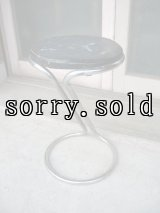 30'S 40'S    アールデコ    チューブラーZスツール    Vintage stool - Z stool - tubular chrome - Troy Sunshade Co - Gilbert Rohde アンティーク ビンテージ