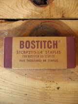 1930'S  40'S    BOSTITCH ステイプラー Stapler ホチキス針 紙箱 アドバタイジング アンティーク ビンテージ