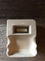 1920'S 30'S アッシュトレイ 洗面 灰皿 陶器 ポーセレン ポーセリン アンティーク ビンテージ