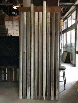 アンティーク フレーム製作に 廃材 古材 チェアレール ホワイト シャビー アメリカ old barn wood ビンテージ