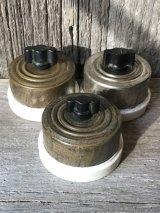 アメリカ製 1900'S 10'S サーフェイススイッチ HART SWITCH スナップスイッチ ターンスイッチ 真鍮 ポーセリン アンティーク ビンテージ