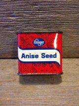 アンティーク ティン缶 Kroger Anise Seed ミントコンディション ビンテージ