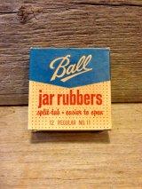 ボール メイソンジャー ボックス 箱 換え用 蓋 Ball jar rubbers アドバタイジング ヴィンテージ
