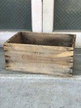 ウッドボックス GOOD LUCK MARGARINE 木箱 ストレージボックス アンティーク ビンテージ