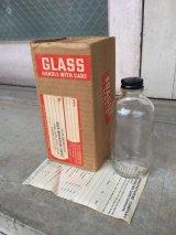 デッドストック ガラスボトル 箱付き アンティーク ビンテージ