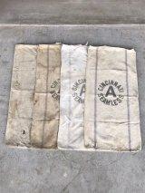 1930'S 40'S シードサック コットンサック ダッフルバッグ ステンシル CINCINNATI SEAMLESS 穀物袋 アンティーク ビンテージ