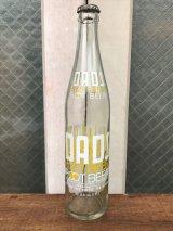 ガラスボトル ルートビア rootbeer DAD'S クリアガラス アンティーク ビンテージ