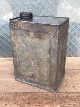 1940'S 50'S オイル缶 携行官 ベスパ ラビット ランブレッタ CANCO ティン缶 メタル シャビーシック アンティーク ビンテージ