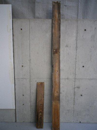 画像2: アンティーク バーンウッド 廃材 ホワイト 白 シャビー 30cm×30cm@ old barn wood ビンテージ