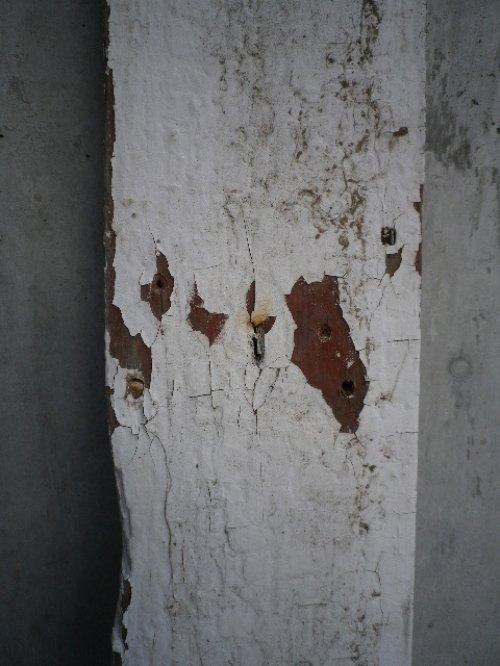 other photographs.2: アンティーク バーンウッド 廃材 ホワイト 白 シャビー 30cm×30cm@ old barn wood ビンテージ