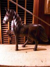 1880'S 90'S 1900'S 10'S 20'S アンティーク ペーパーホース ペーパーマッシュ 馬オブジェ ラッキーチャーム ショップディスプレイ ビンテージ
