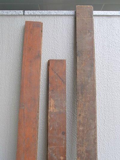 画像2: アンティーク old フロアー材 floor 床材 ボード ペイント スプラッター アブストラクト系 シャビー アメリカ old barn wood ビンテージ