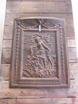 アンティーク 19世紀 1870'S 1880'S 1890'S アイアン マントルカバー 暖炉 蓋 装飾 ビンテージふた デコラ ティン ビンテージ