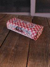 1930'S アンティーク 紙箱 YANKEE GIRL PLUG タバコ 店舗用装飾品 ビンテージ