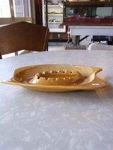 アンティーク  灰皿 陶器 小物入れ フィフティーズデザイン ビンテージ