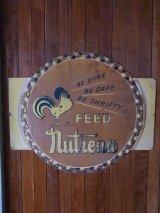 アンティーク 看板 FEED nutrena ビンテージ