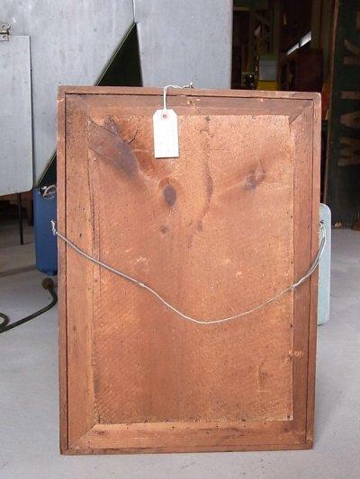 画像2: アンティーク フレーム付き鏡 ビクトリアン時代 シンプルミラー 木枠 19世紀末頃 ビンテージ