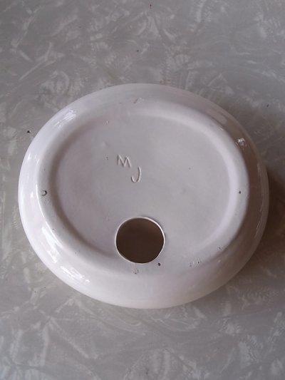 画像2: アンティーク  灰皿 小物入れ ホワイト ビンテージ