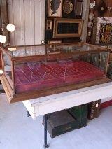 1890'S 1900'S 1910'S ヴィクトリアン アンティーク ジェネラルストア 木枠ガラスショーケース 展示ケース ディスプレーケース ビンテージ