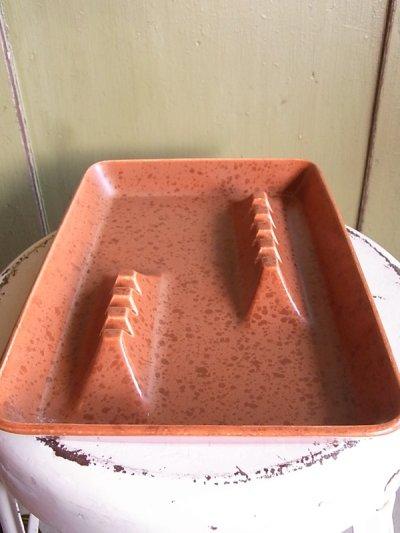 画像4: アンティーク 灰皿 小物入れ ブラウン ビンテージ