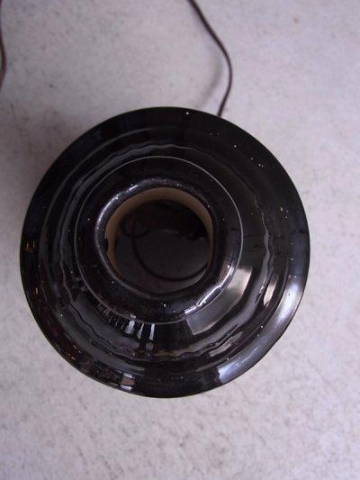画像5: アンティーク 1灯 デスクランプ ストーブ型 ストーブモチーフ 陶器 ビンテージ