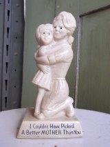アンティーク 70's メッセージドール I Couldn't Have Picked A Better MOTHER Than You 人形 ビンテージ