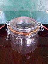 アンティーク グラスジャー 保存容器 Le Parfait ビンテージ