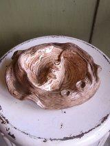アンティーク 50'S   灰皿 小物入れ 陶器 切株モチーフ arnel's ビンテージ