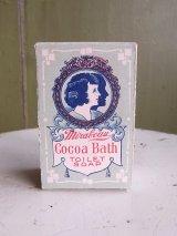 アンティーク 1900年頃 アドバタイジング 紙箱 Mirabeau Cocoa Bath TOILET SOAP ビンテージ