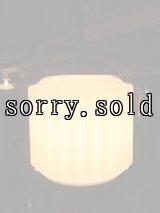 アンティーク   インダストリアル 工場照明 ペンダントランプ シーリングライト ミルクガラスシェード 1灯 ビンテージ