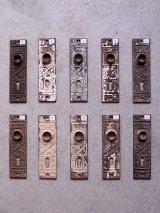 アンティーク 1900'S   ビクトリアン イーストレイク ドアプレート バックプレート アイアン 装飾 ビンテージ