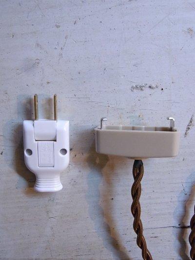 画像3: 1950'S 60'S 70'S アンティーク ベアバルブ ソケット シンプルランプ 裸電球 マットシルバー アルミ ビンテージ 【随時オーダー受付中】