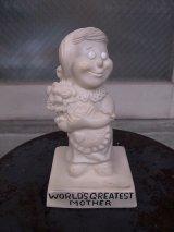 アンティーク 70's メッセージドール WORLD'S GREATEST MOTHER 人形 ビンテージ