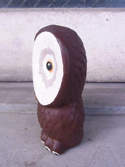 画像4: アンティーク オブジェ フクロウ 不苦労 陶器 ビンテージ その1