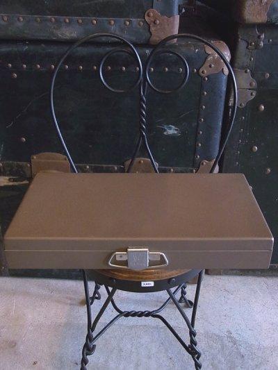 画像1: インダストリアル メタルボックス Kenco 仕切り付 ビンテージ