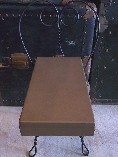 画像2: インダストリアル メタルボックス Kenco 仕切り付 ビンテージ
