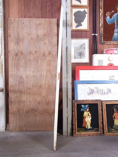 other photographs.3: アンティーク 2分割ガラス窓付木製ドア ピンク/グリーン×グリーン/ブルー シャビー ビンテージ