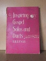 アンティーク 洋書 楽譜 ゴスペル Inspiring Gospel Solos and Duets LILLENAS 本 古書 ビンテージ