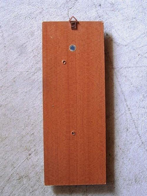 other photographs.1: アンティーク 1960'S 旧西ドイツ製 モダン ウォールオーナメント 木製 小鳥 ビンテージ