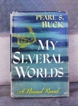 アンティーク 洋書 本 MY SEVERAL WORLDS 1954年 ビンテージ