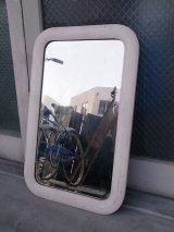 アンティーク 1920'S ミラー ウッドフレーム フレーム付き鏡  ビンテージ