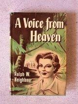 アンティーク 洋書 A Voice from Heaven 1958 本 古書 ビンテージ